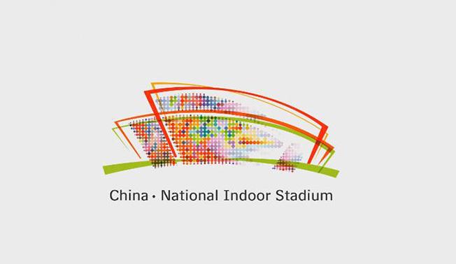 国家体育馆宣传标志