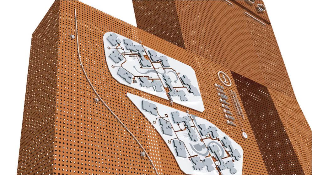 东道品牌创意集团案例 • 龙湖集团MOCO中心导示设计