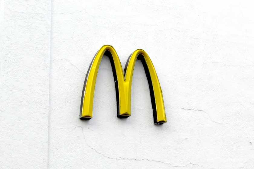 麦当劳金拱门徽标
