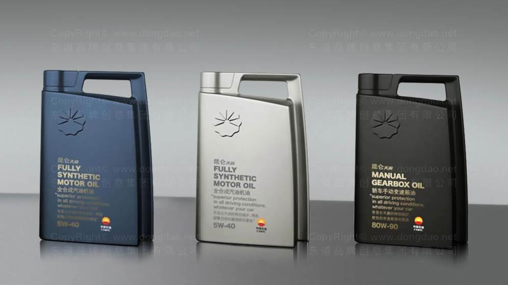 昆仑润滑油包装设计