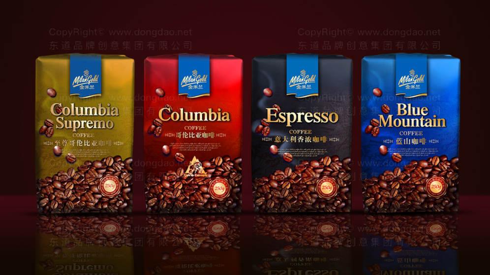 金米兰咖啡包装设计——东道