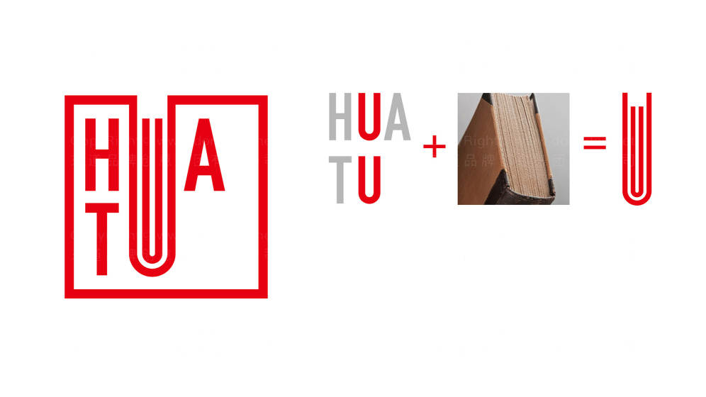 华图教育logo设计