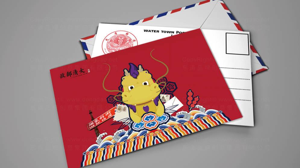 东道为大清邮政设计的吉祥物——咚咙