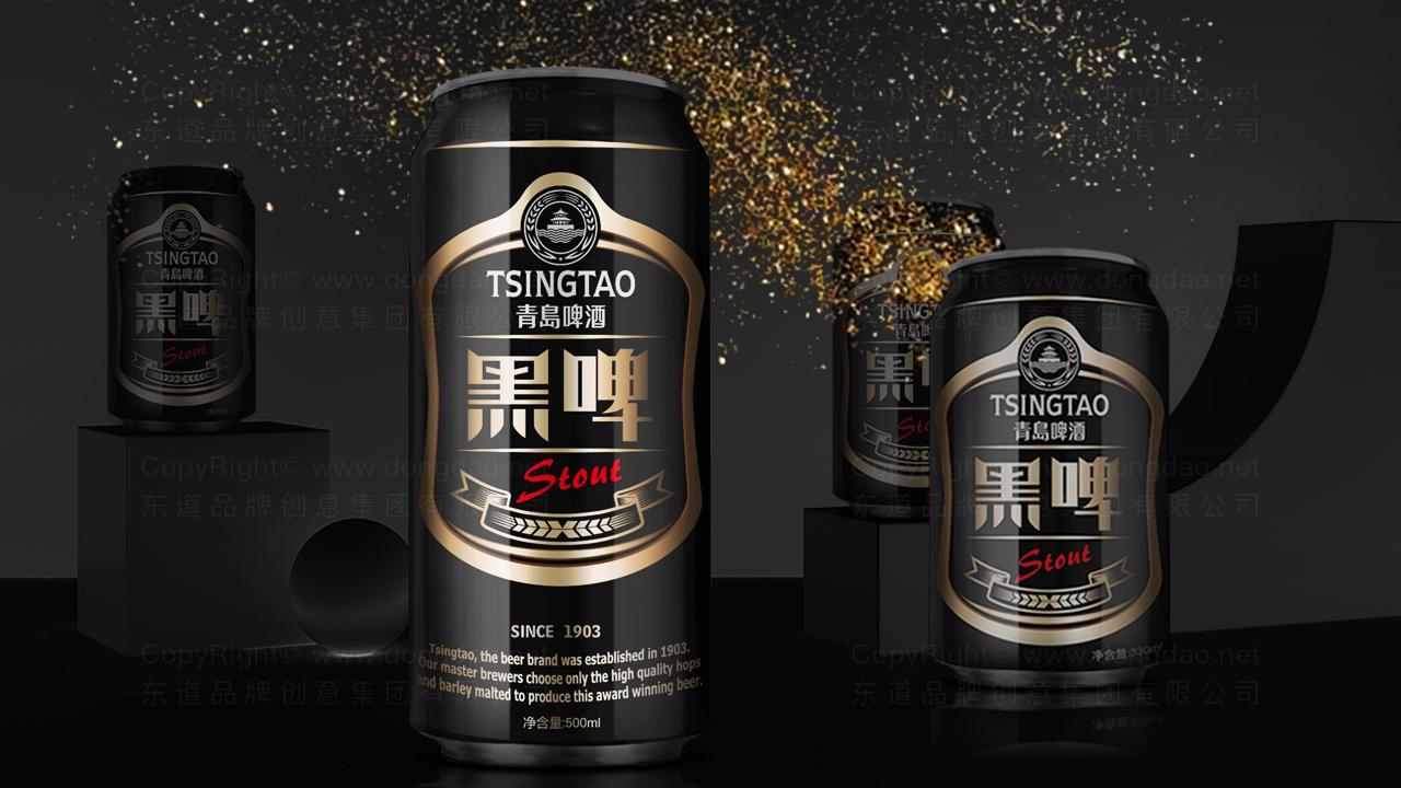 快速消费产品包装青岛啤酒黑啤包装