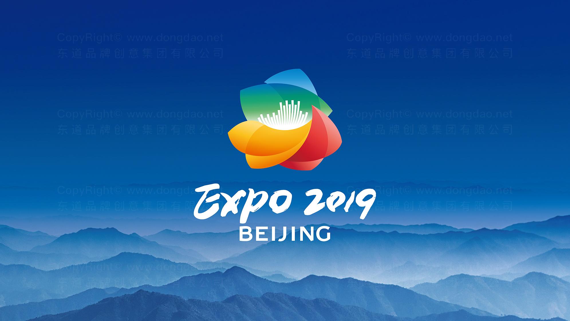 品牌设计案例2019北京世园会LOGO设计