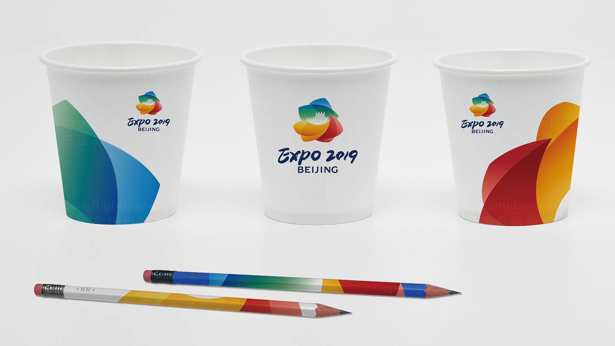 品牌设计2019北京世园会LOGO设计应用场景