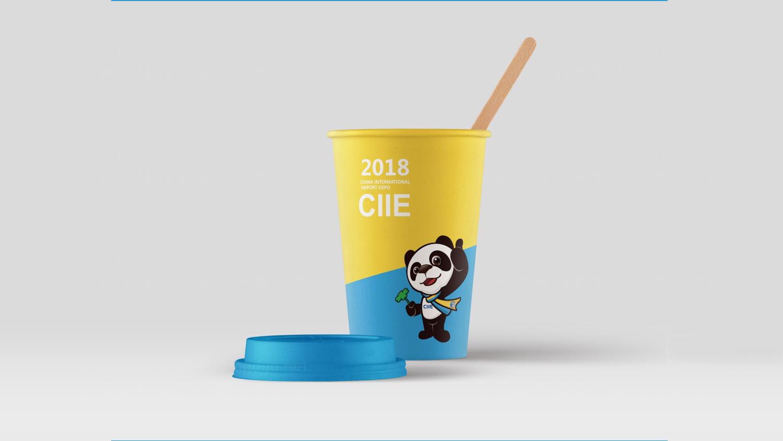 视觉传达进博会CIIE进博会吉祥物设计应用场景_8
