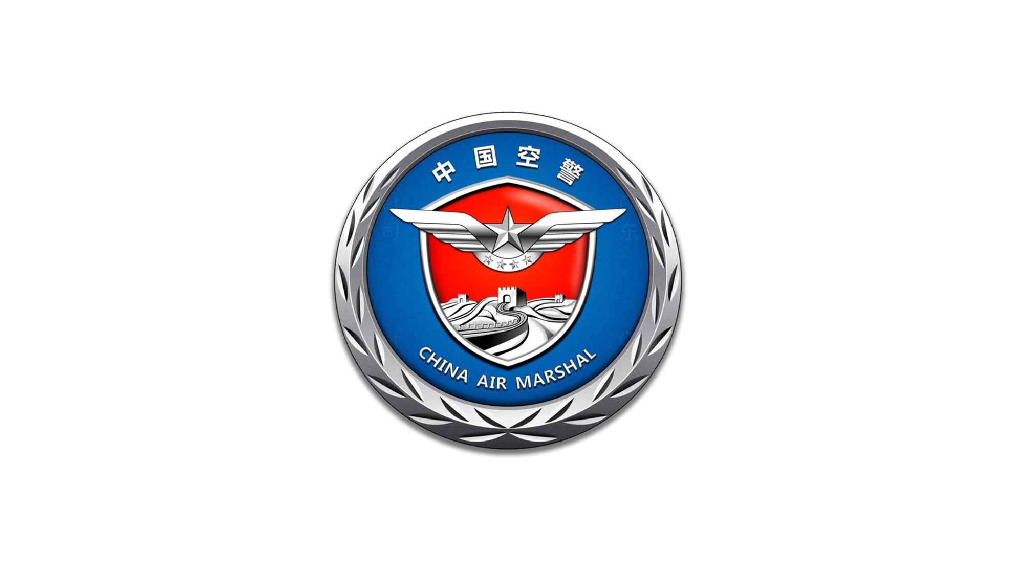 政府组织品牌设计中国空警LOGO&VI设计