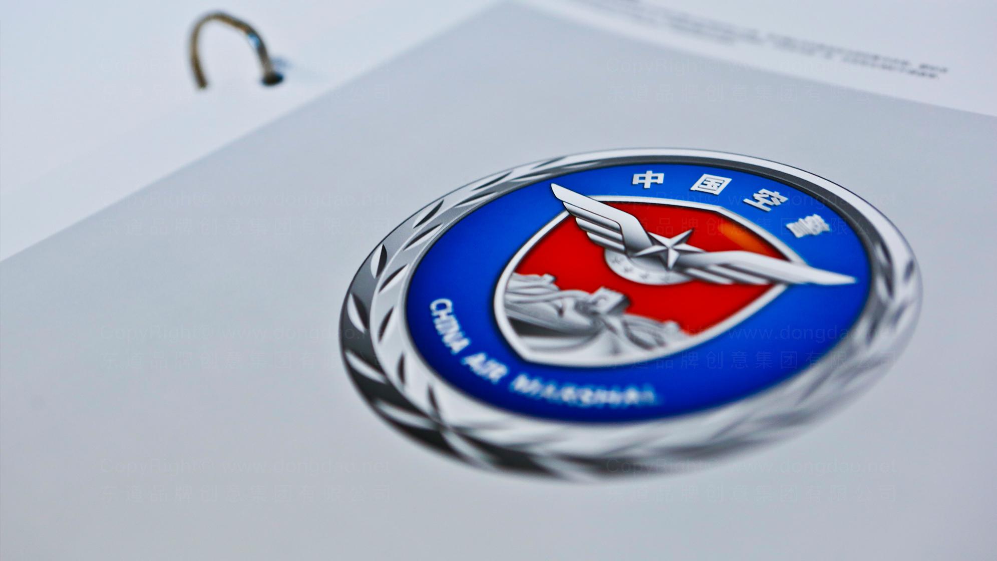 品牌设计中国空警LOGO&VI设计应用