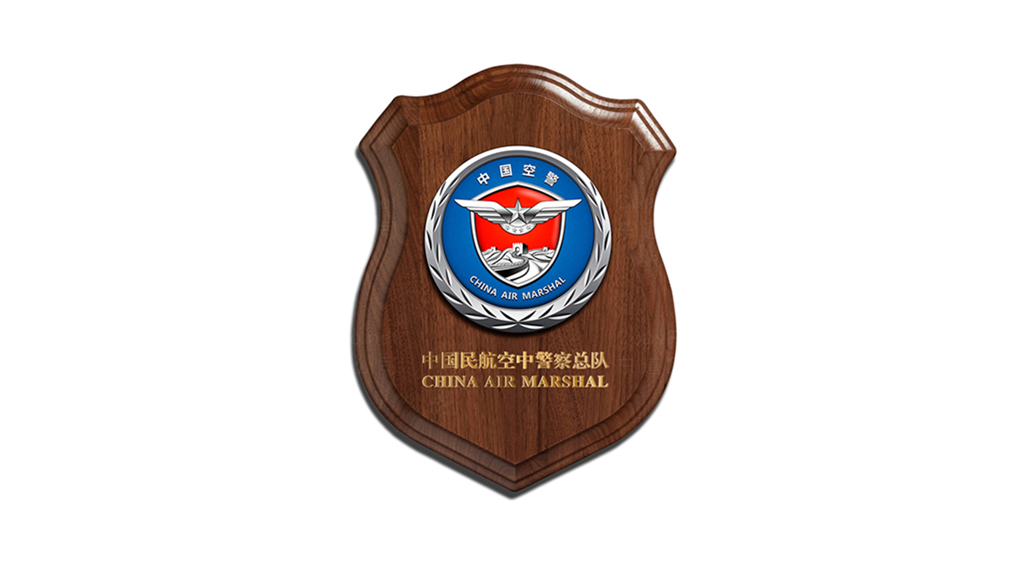 品牌设计中国空警LOGO&VI设计应用场景_3