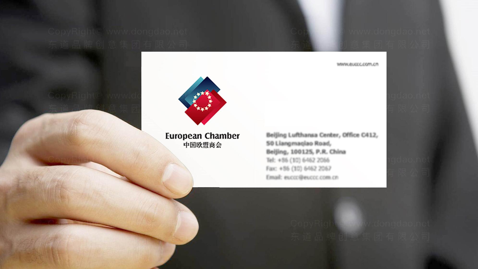 品牌设计中国欧盟商会LOGO&VI设计应用