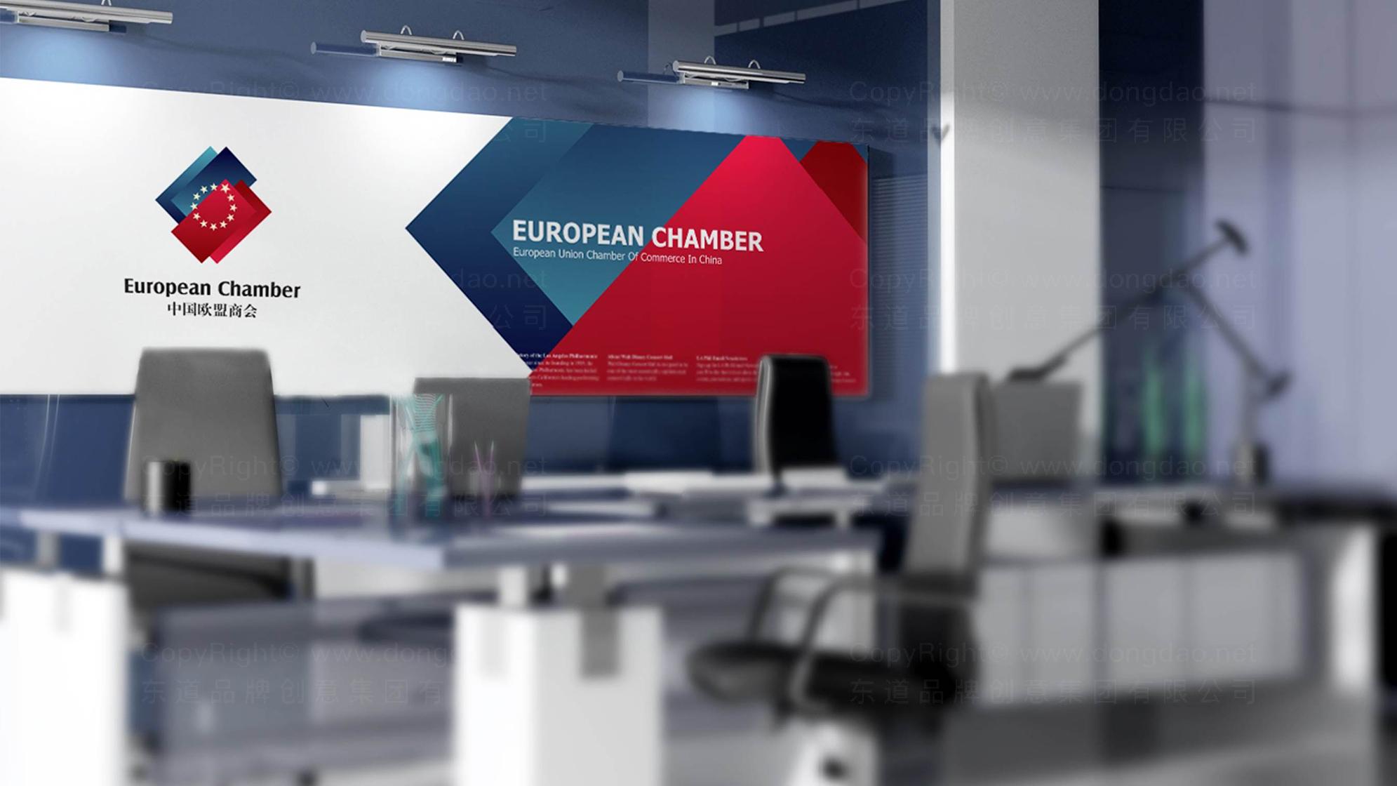 中国欧盟商会LOGO设计、VI设计应用场景_3