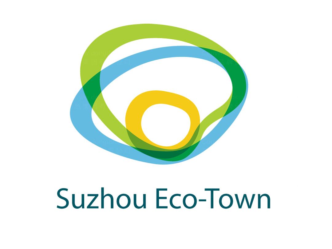 苏州西部生态城logo设计、vi设计应用场景_7