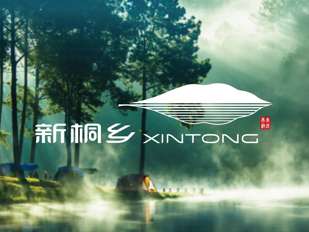 新桐乡政府logo设计、vi设计应用场景_12