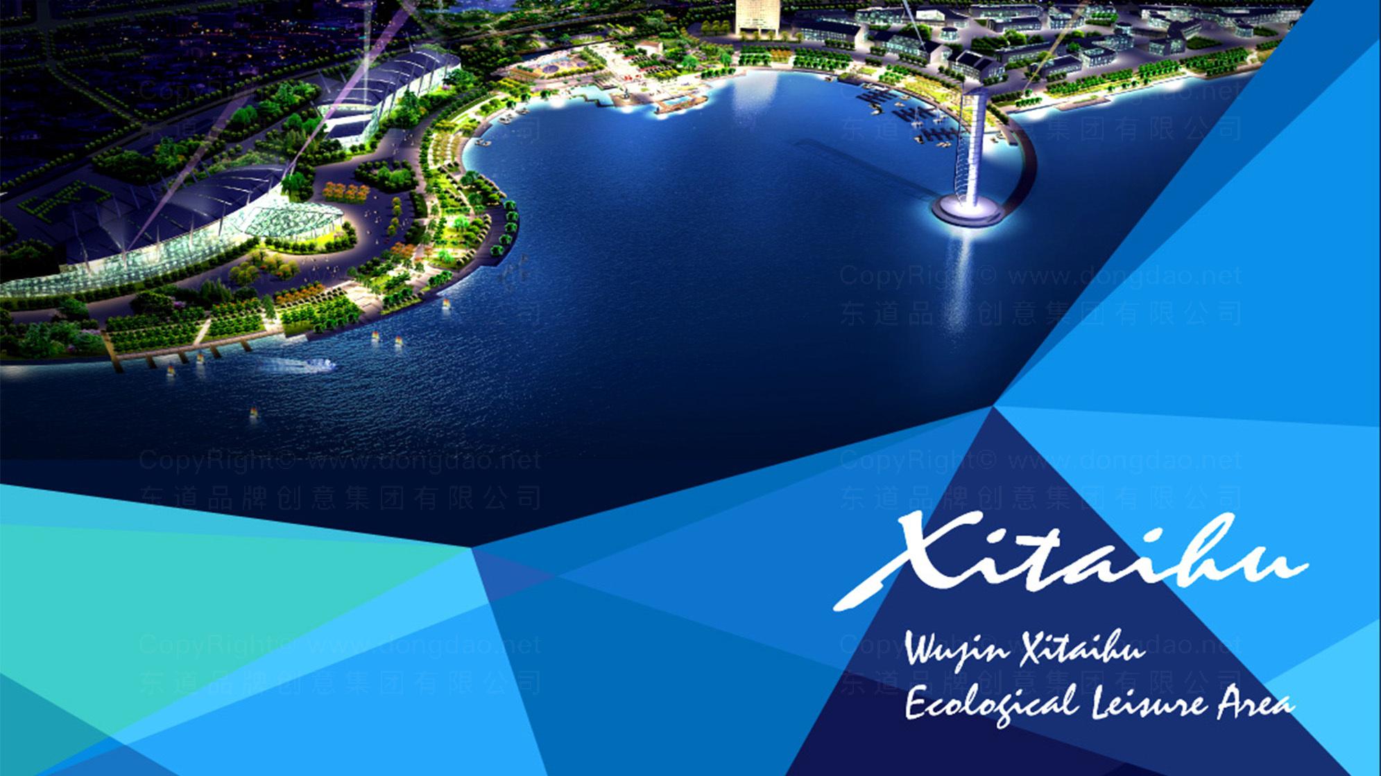 常州武进西太湖logo设计、vi设计应用场景_3