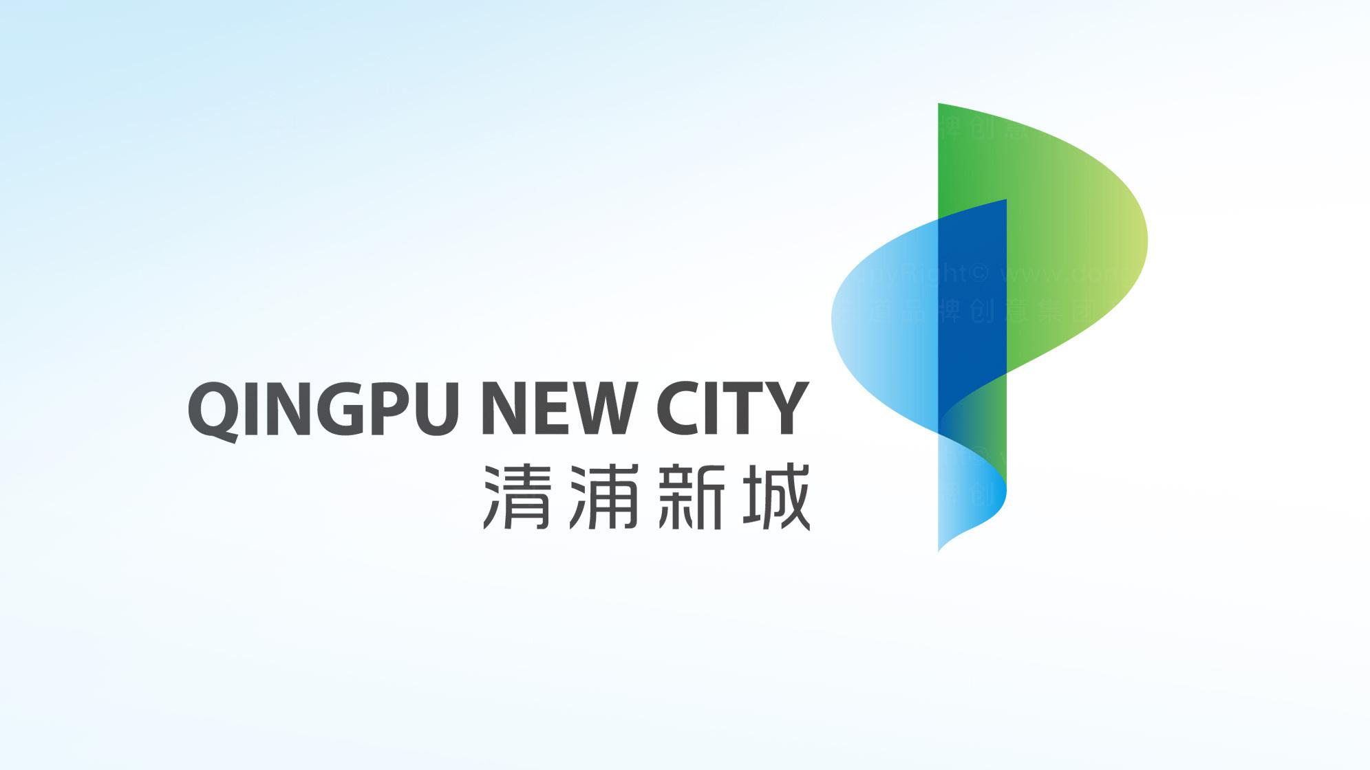 品牌设计案例清浦新城LOGO&VI设计
