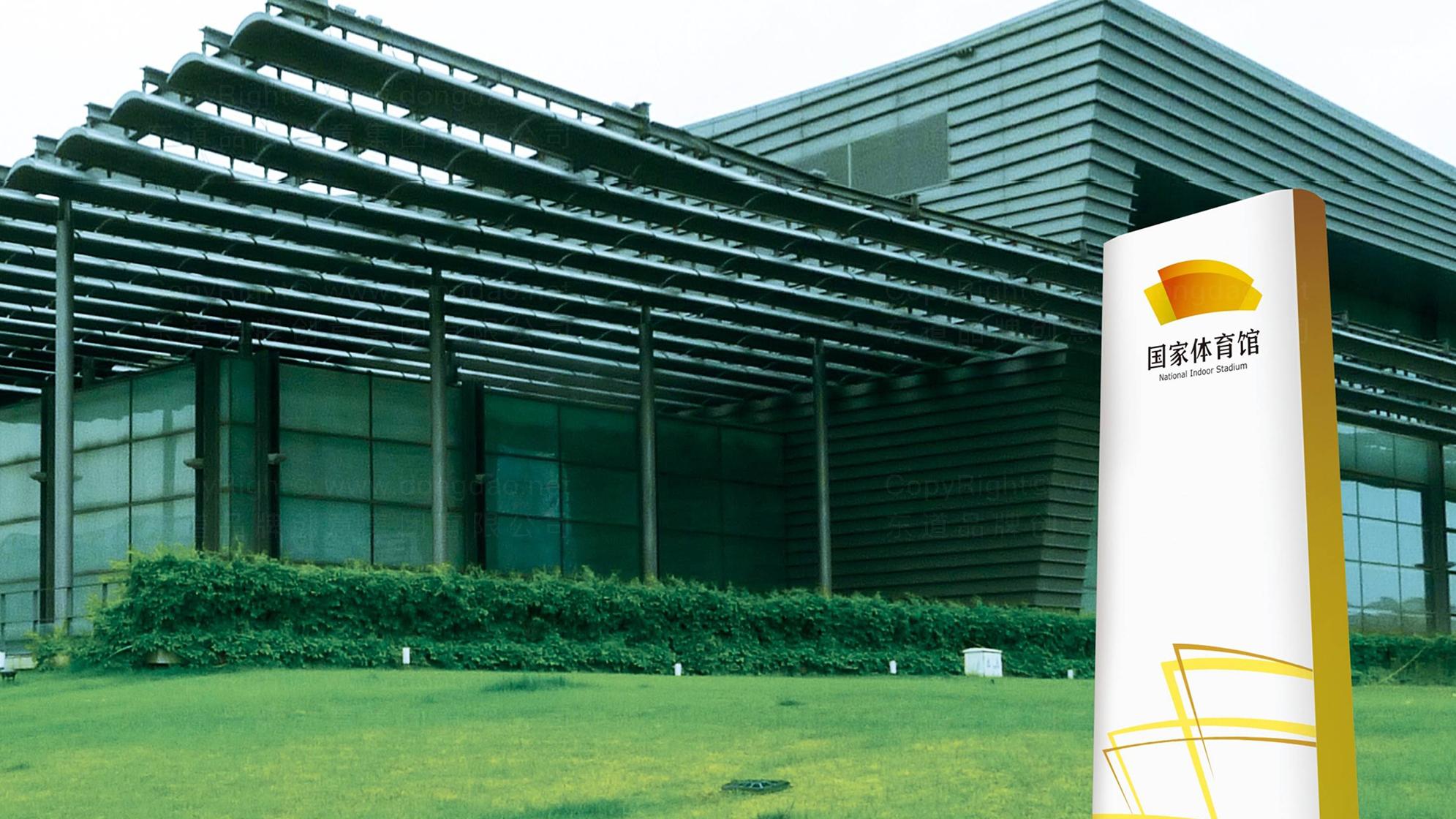 品牌设计国家体育馆LOGO&VI设计应用场景