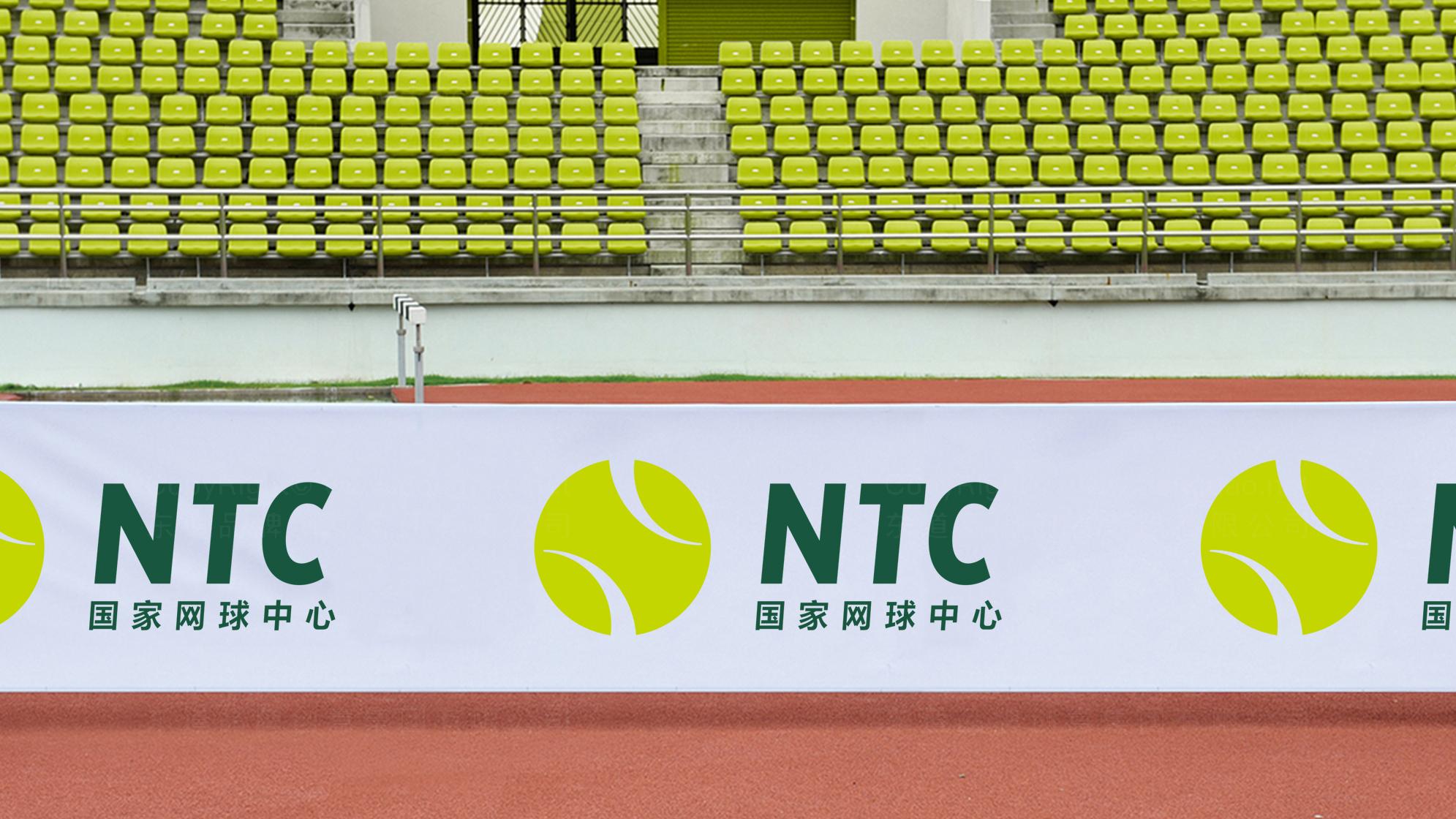 品牌设计国家网球中心标志设计应用场景_6