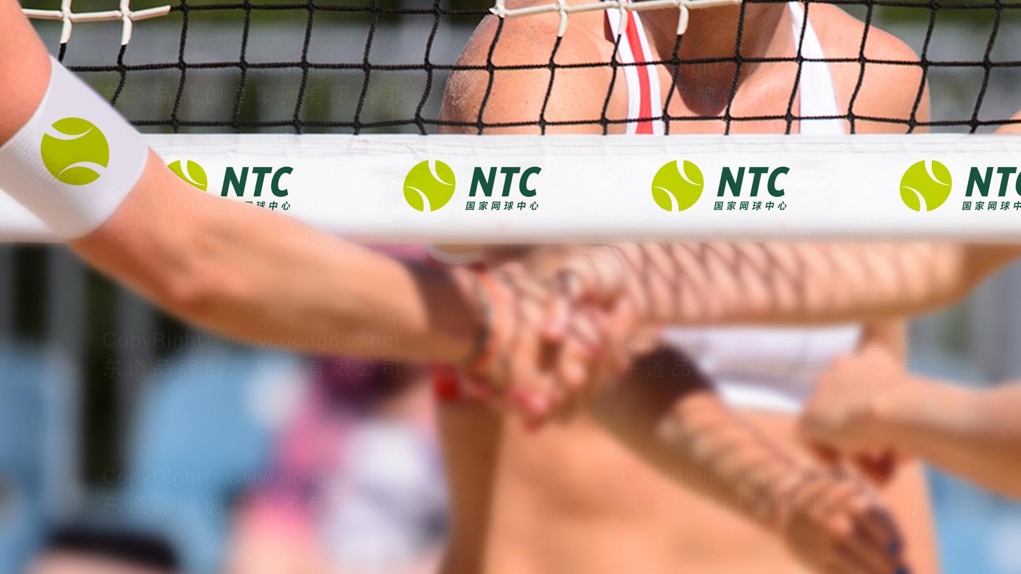 品牌设计国家网球中心标志设计应用场景_7