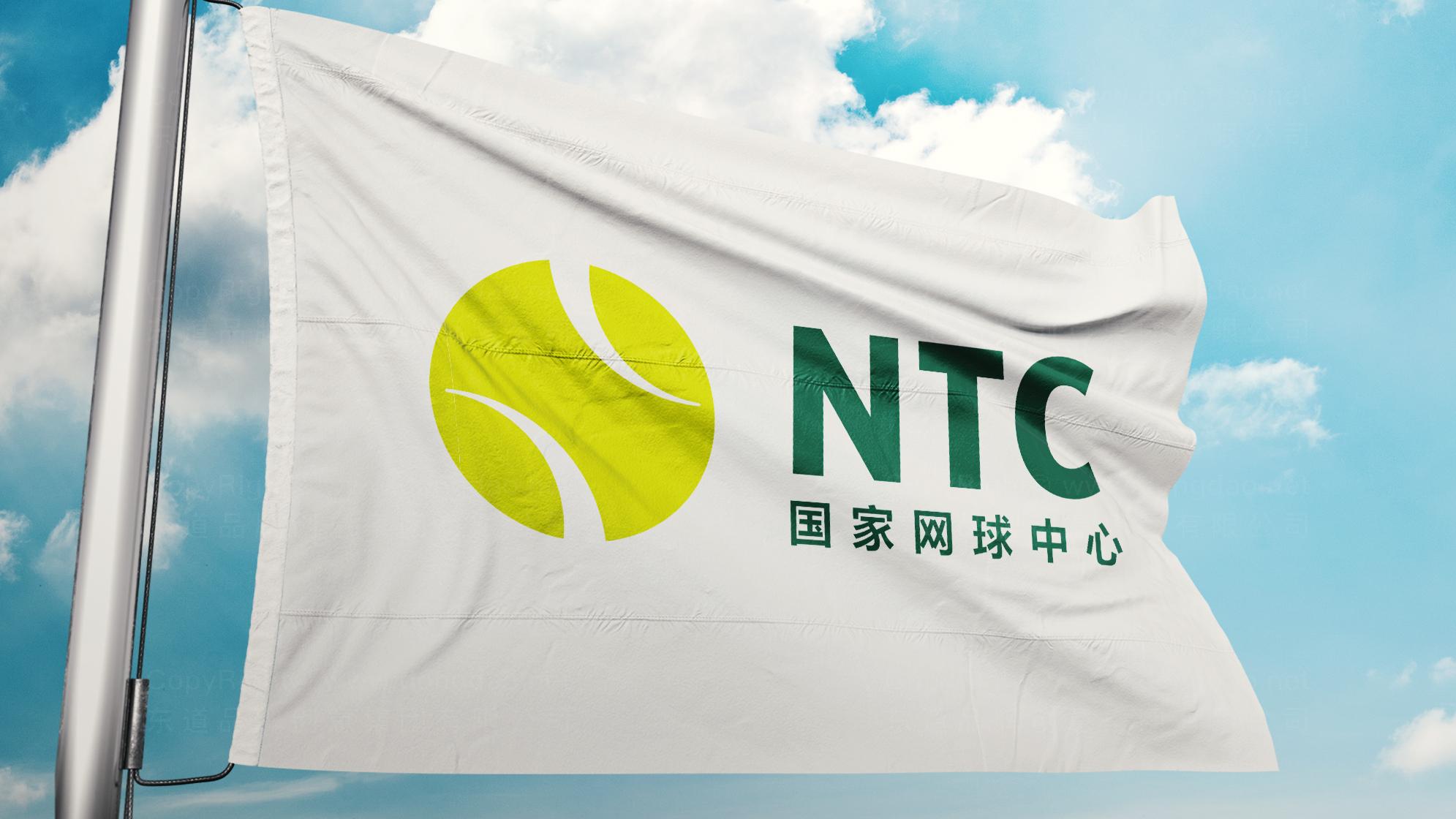 品牌设计国家网球中心标志设计应用场景_9