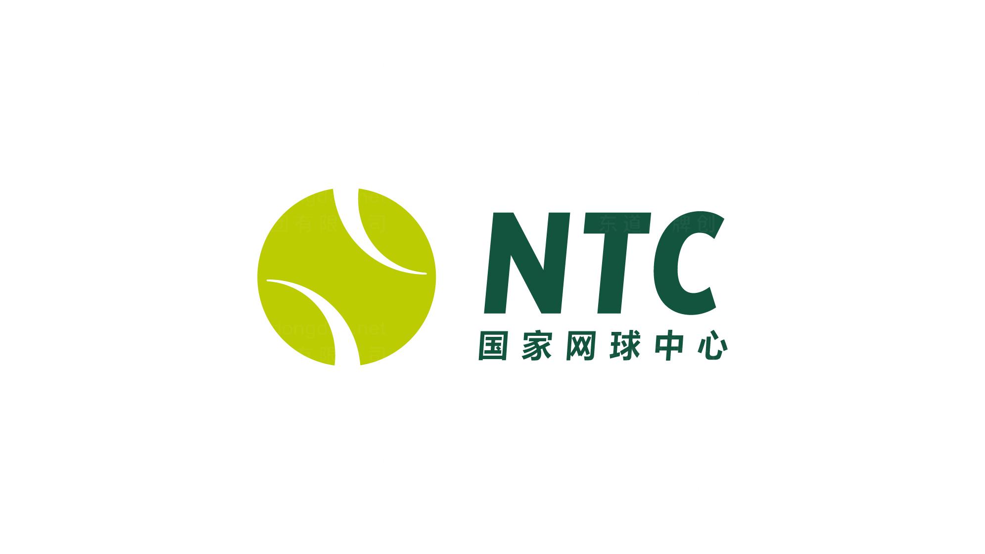 文体娱媒品牌设计国家网球中心标志设计