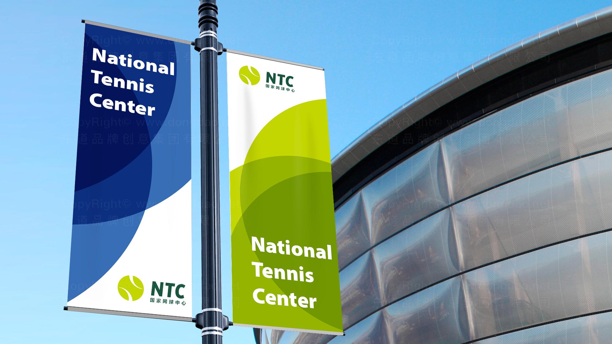 品牌设计国家网球中心标志设计应用场景_1