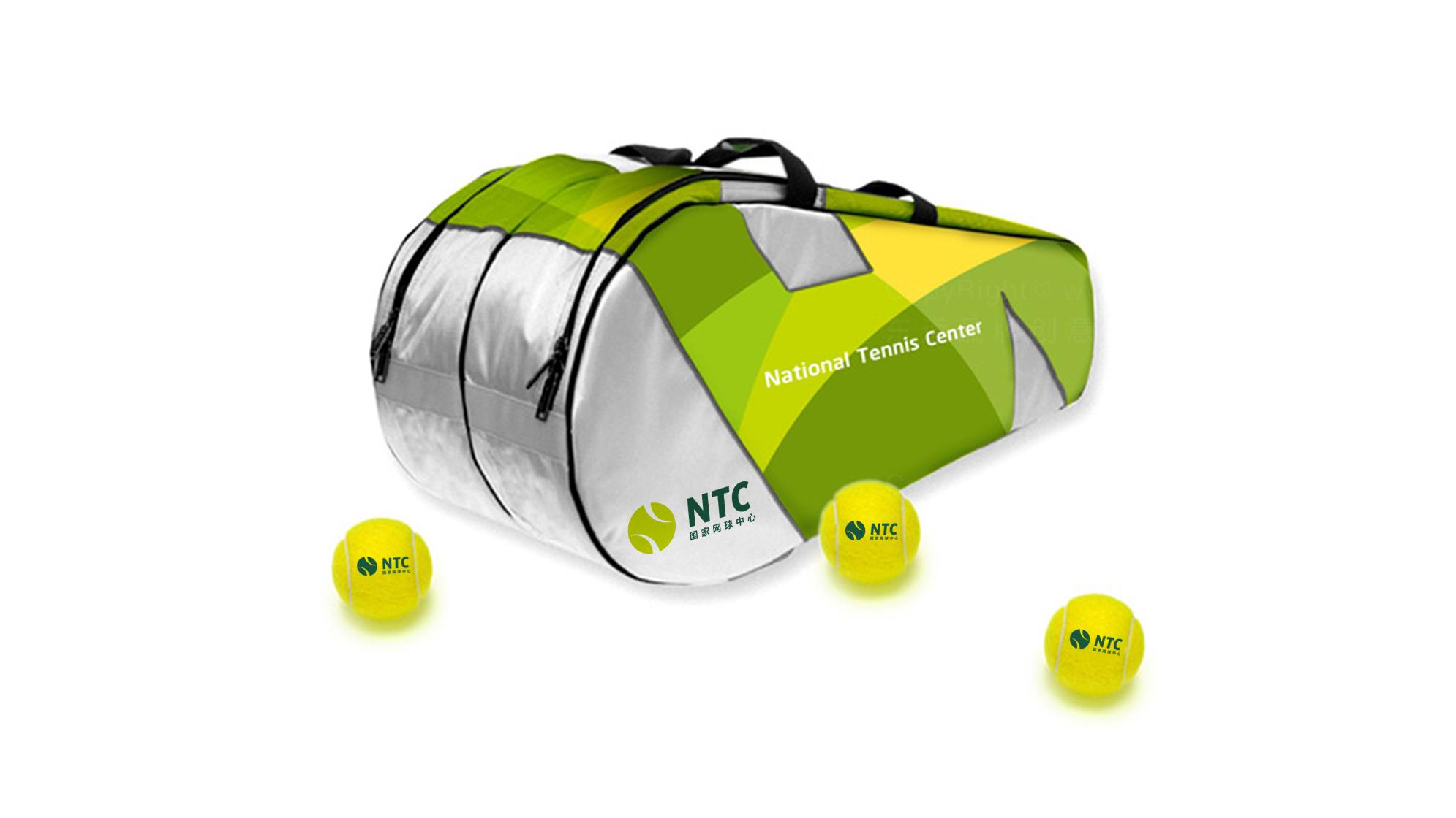 品牌设计国家网球中心标志设计应用场景_4