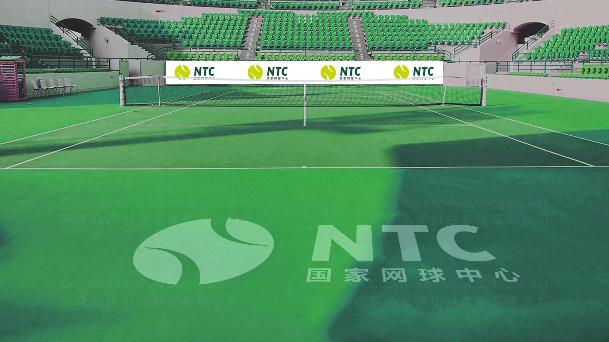品牌设计国家网球中心标志设计应用场景_5