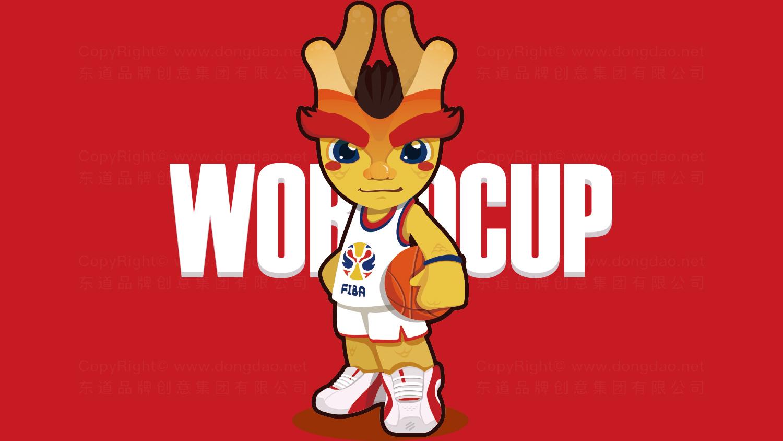 视觉传达案例2019中国男篮世界杯吉祥物设计