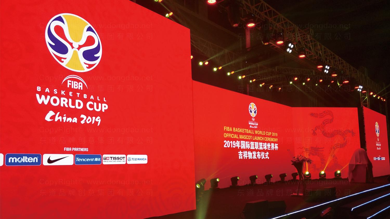 视觉传达2019中国男篮世界杯吉祥物设计应用场景