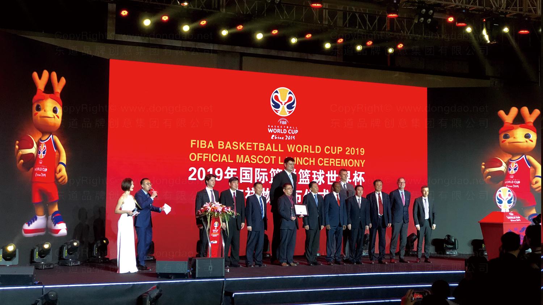 视觉传达2019中国男篮世界杯吉祥物设计应用场景_1