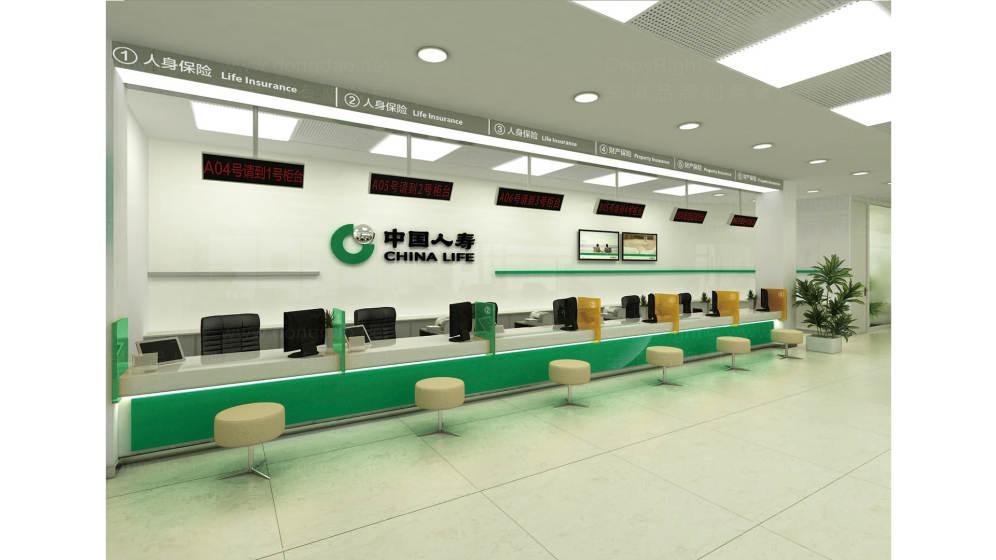 中国人寿环境导示设计1