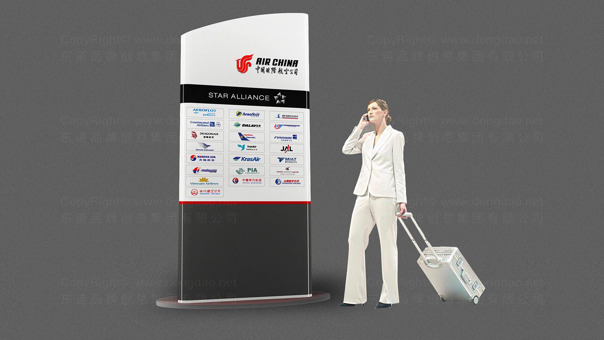 品牌设计中国国航VI设计应用场景_14
