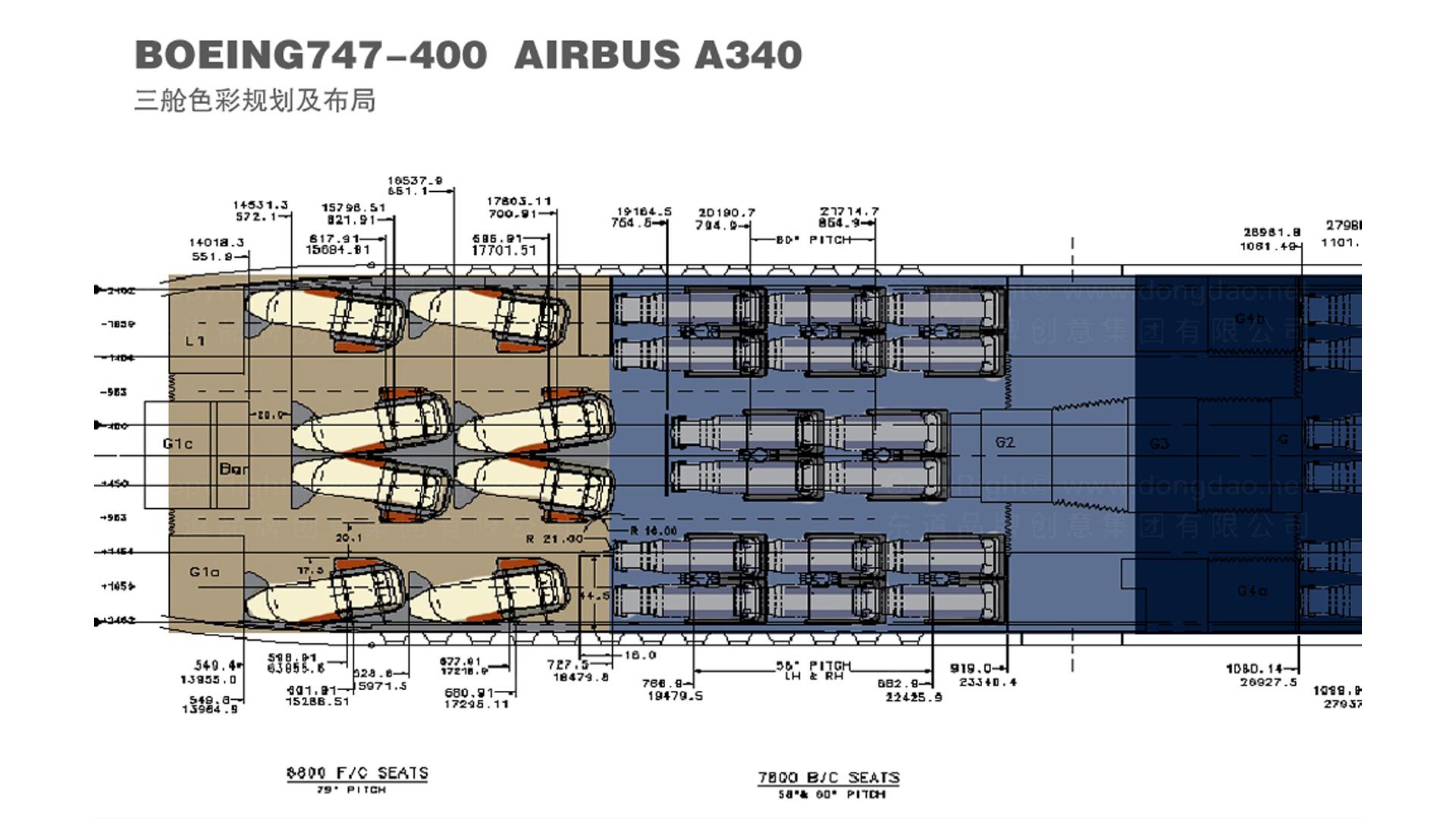 商业空间&导示中国国航三舱及产品设计应用