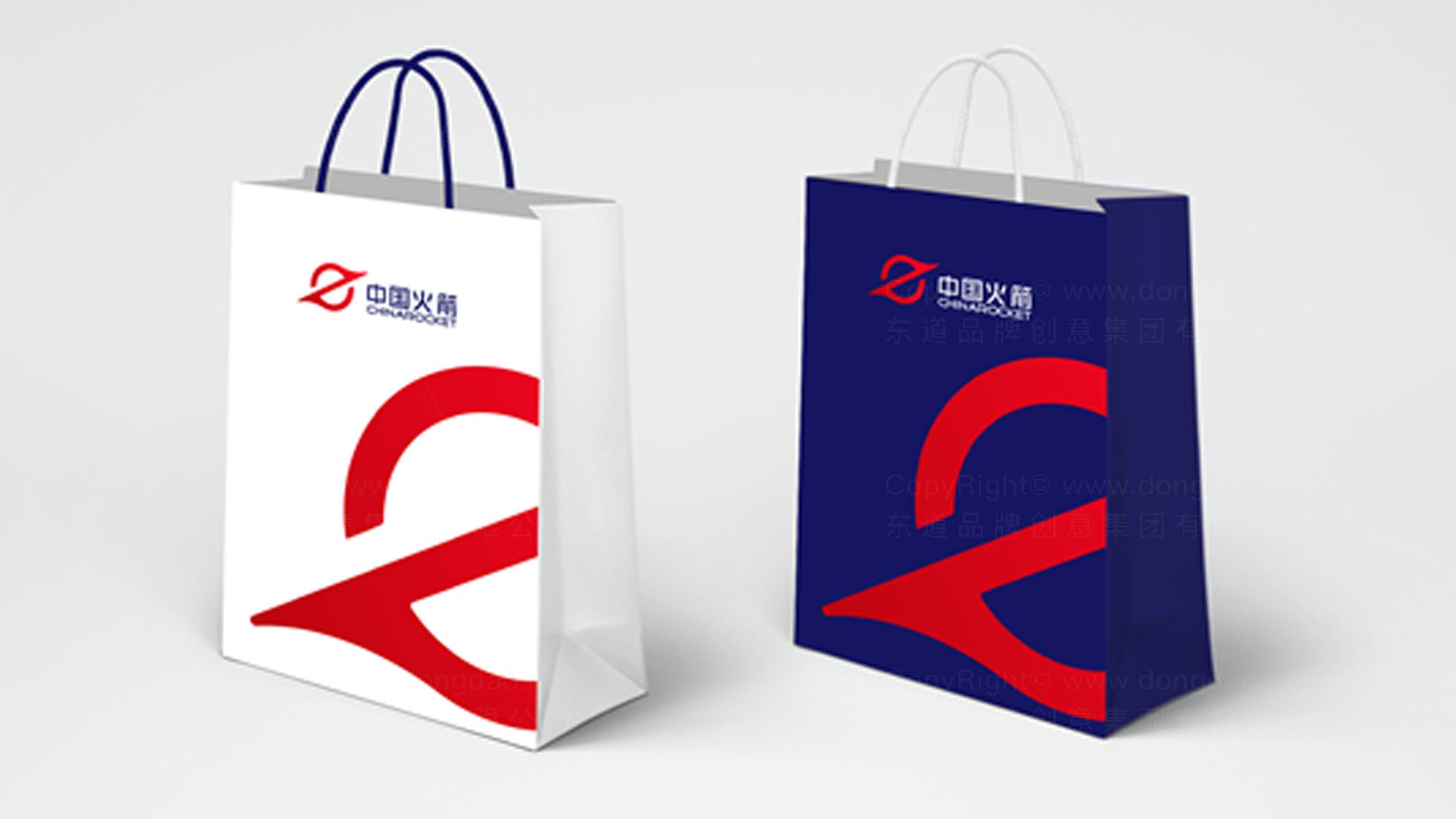 品牌设计中国长征火箭logo设计、vi设计应用场景_8
