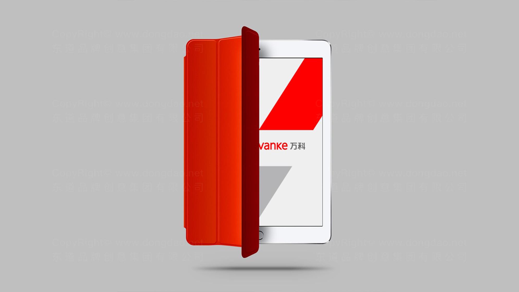 品牌设计万科logo设计、vi设计应用场景_4
