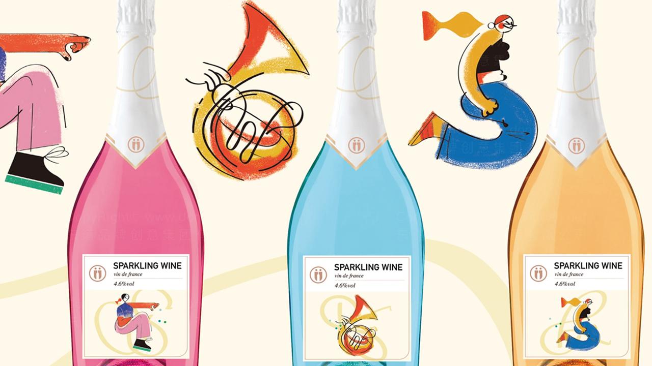 快速消费产品包装U-Day香槟系列