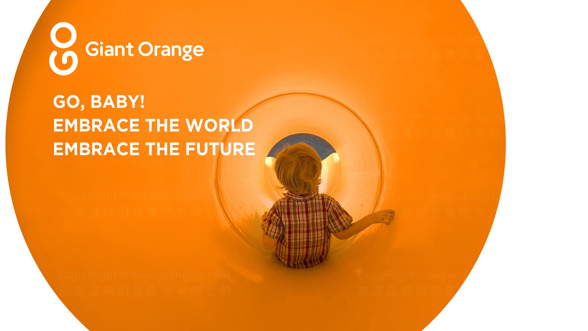 品牌设计昂橙母婴LOGO&VI设计应用场景_1