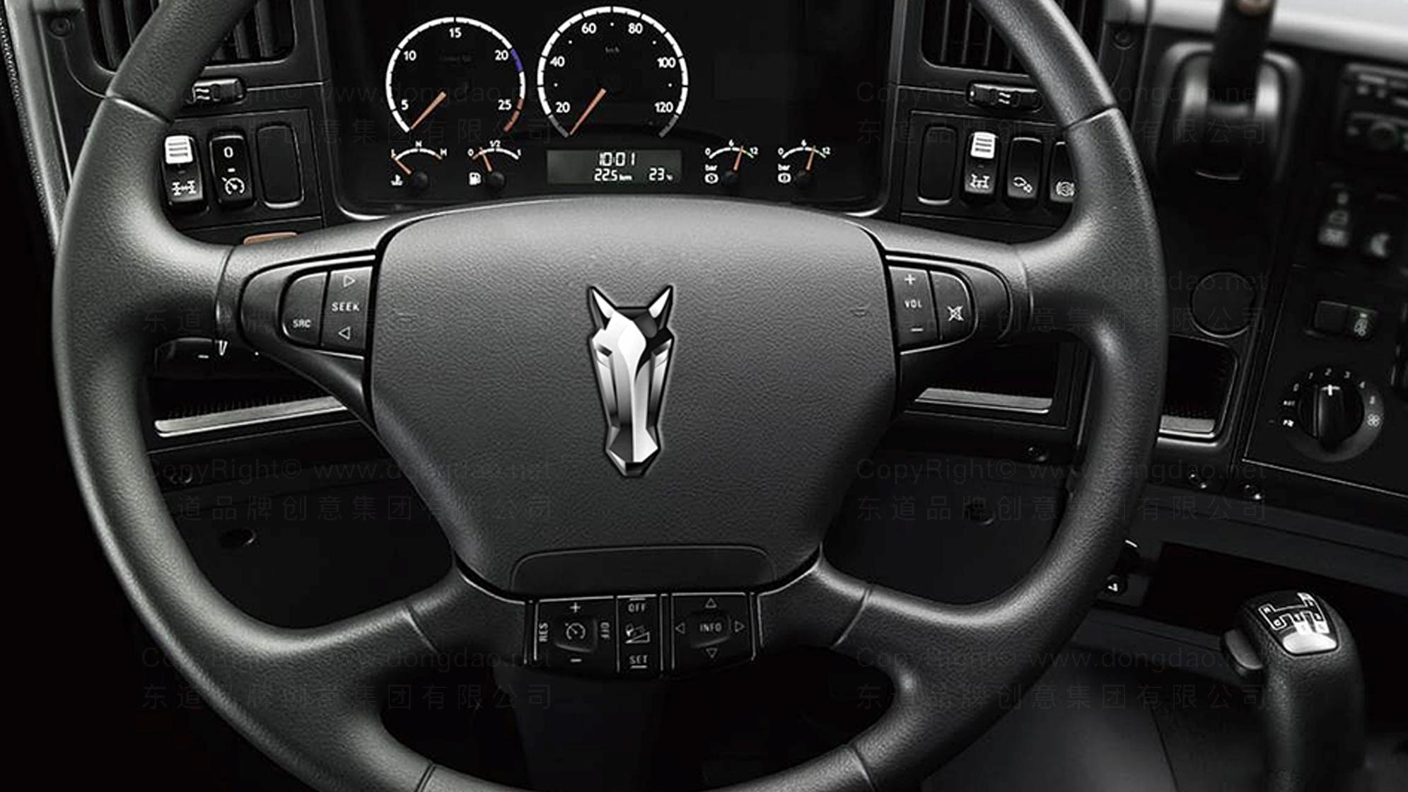 汽车业品牌设计铂骏重卡LOGO&VI设计