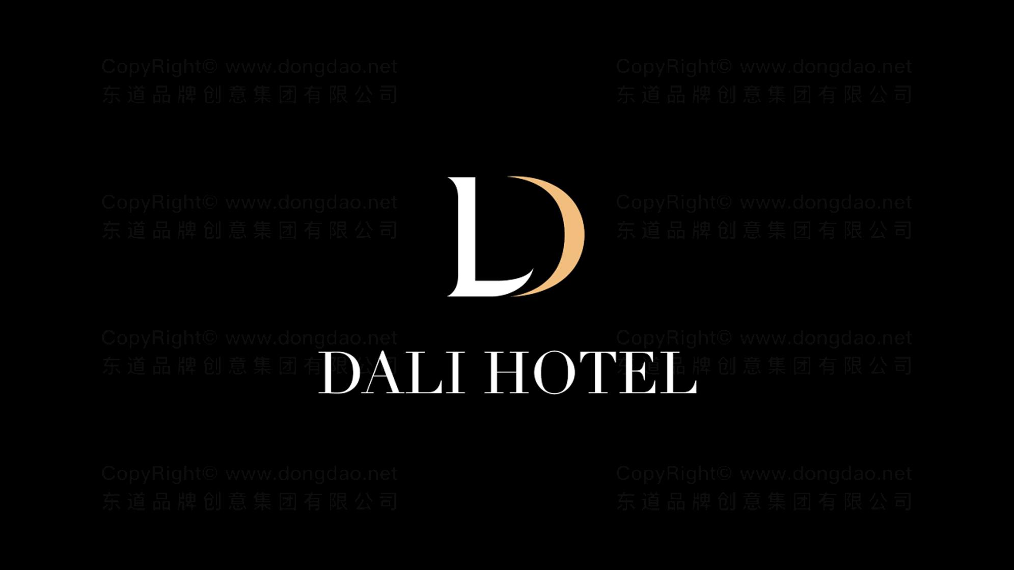 酒店餐饮品牌设计大理国际酒店LOGO&VI设计