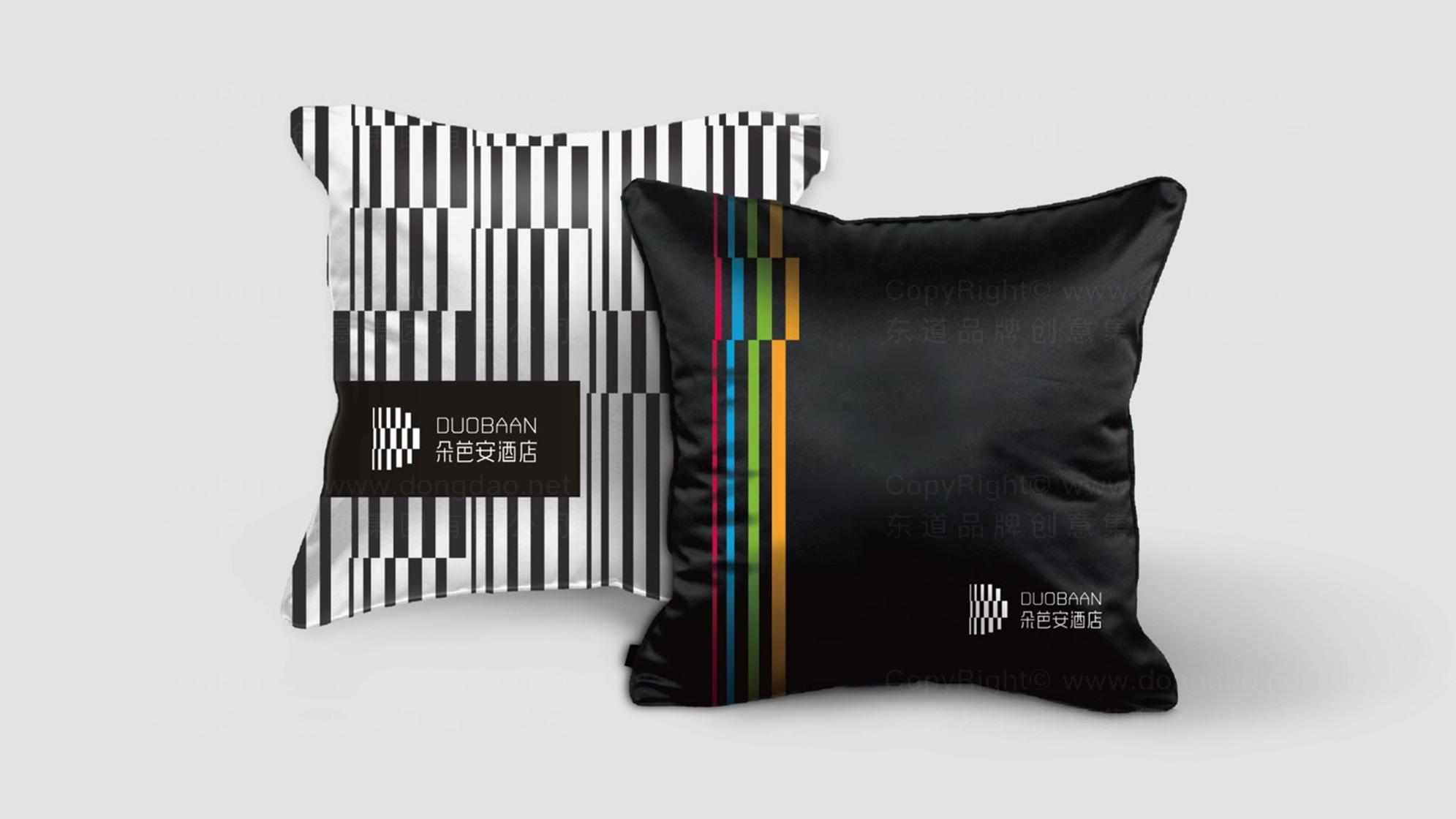 品牌设计朵芭安LOGO&VI设计应用场景_4