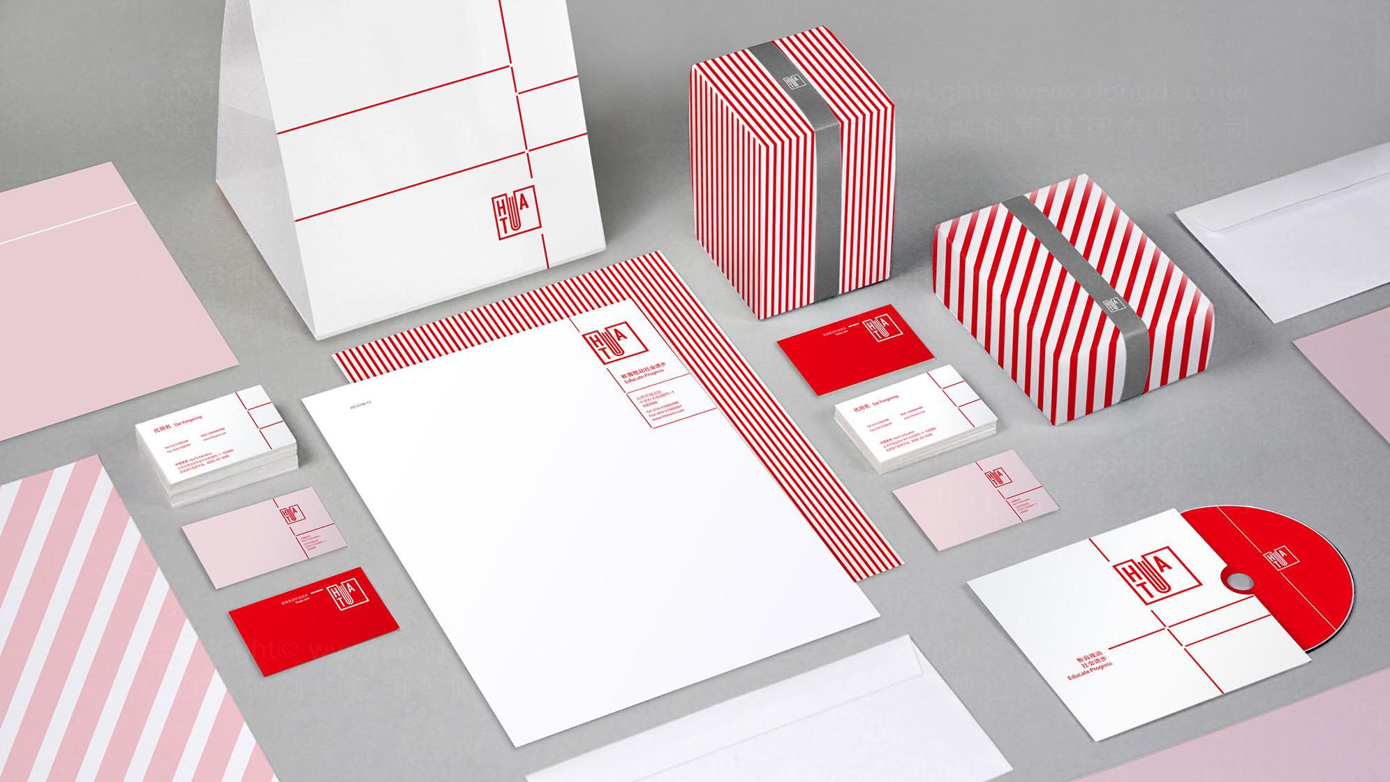 品牌设计华图LOGO&VI设计应用