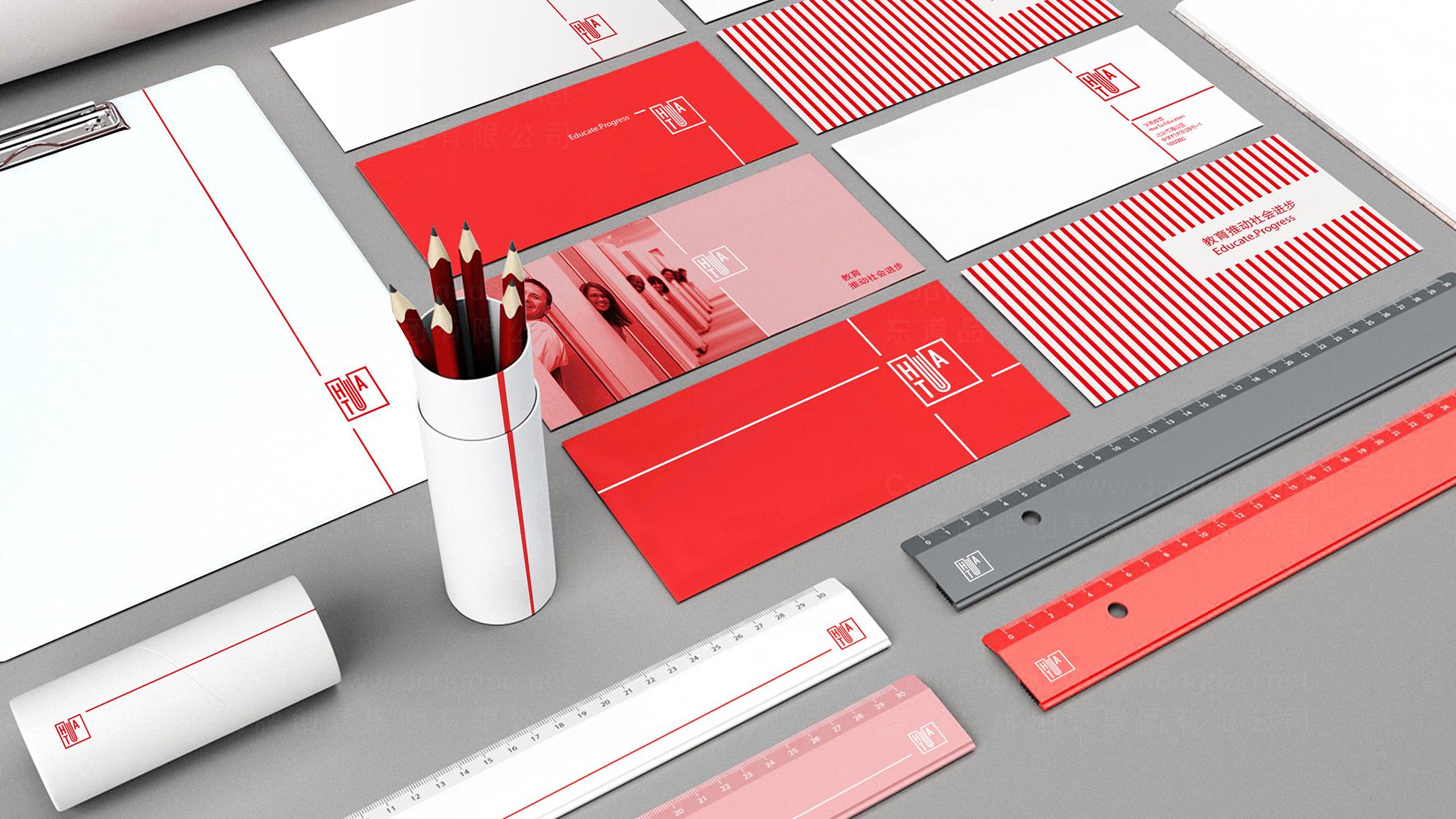 品牌设计华图LOGO&VI设计应用场景