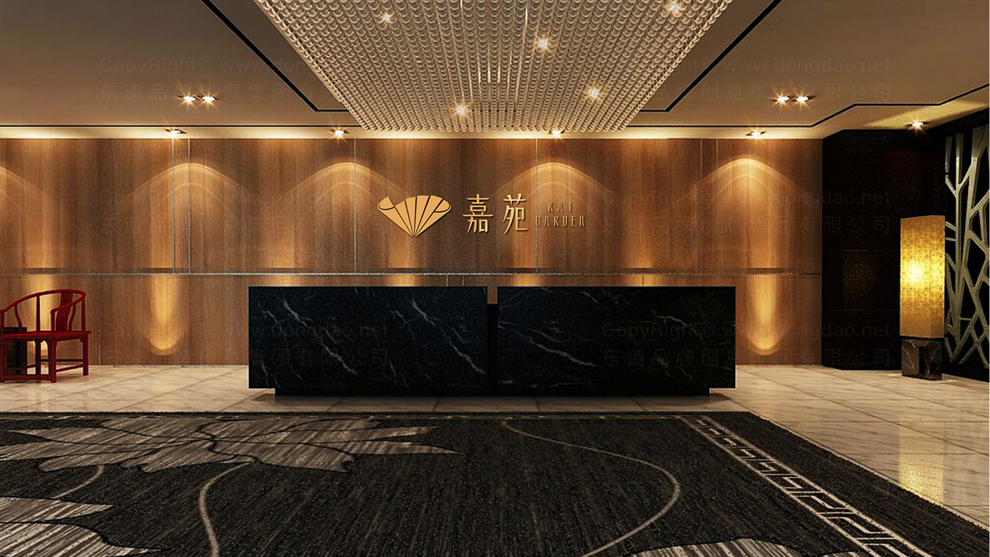 品牌设计嘉苑中餐厅LOGO&VI设计应用场景_5