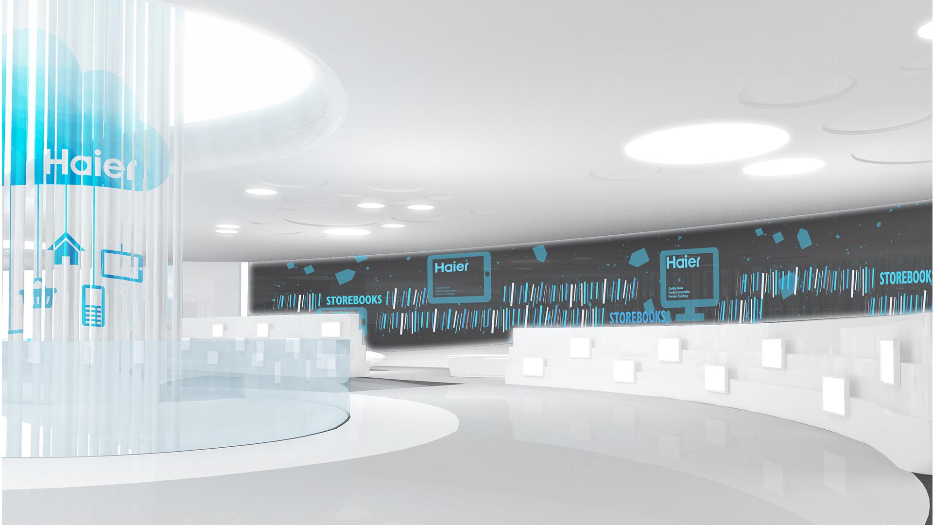 商业空间&导示海尔海尔旗舰店设计应用场景_1
