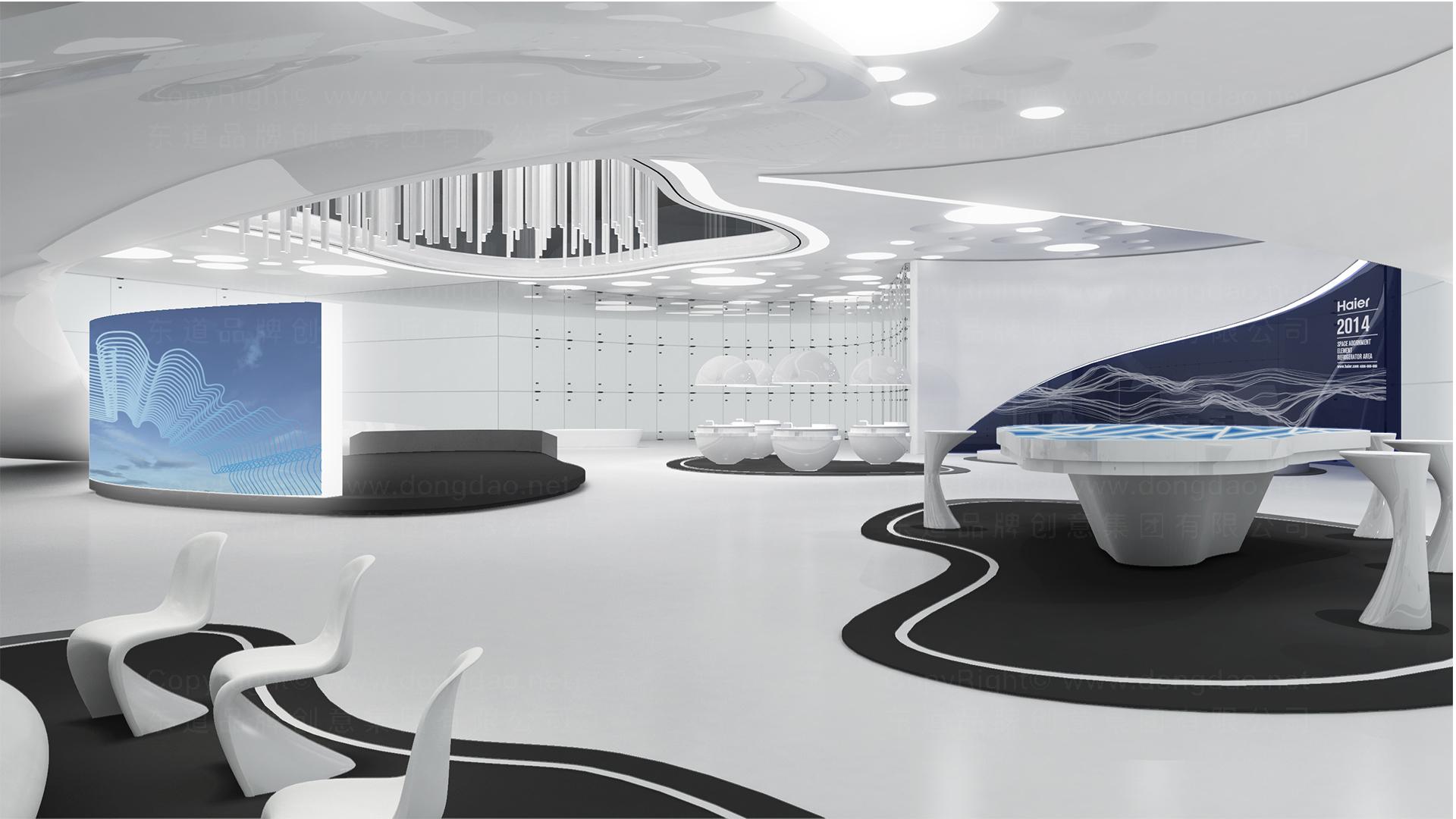 商业空间&导示海尔海尔旗舰店设计应用场景_3