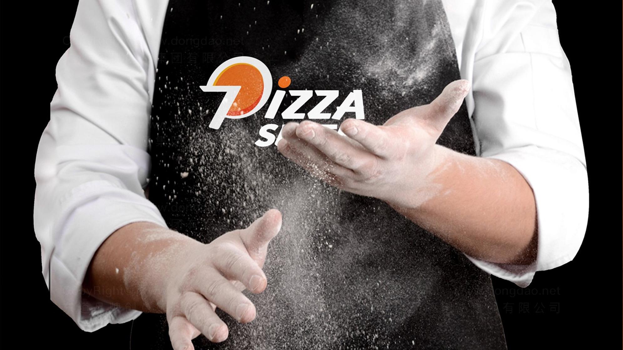 品牌设计美闻披萨LOGO&VI设计应用场景_4