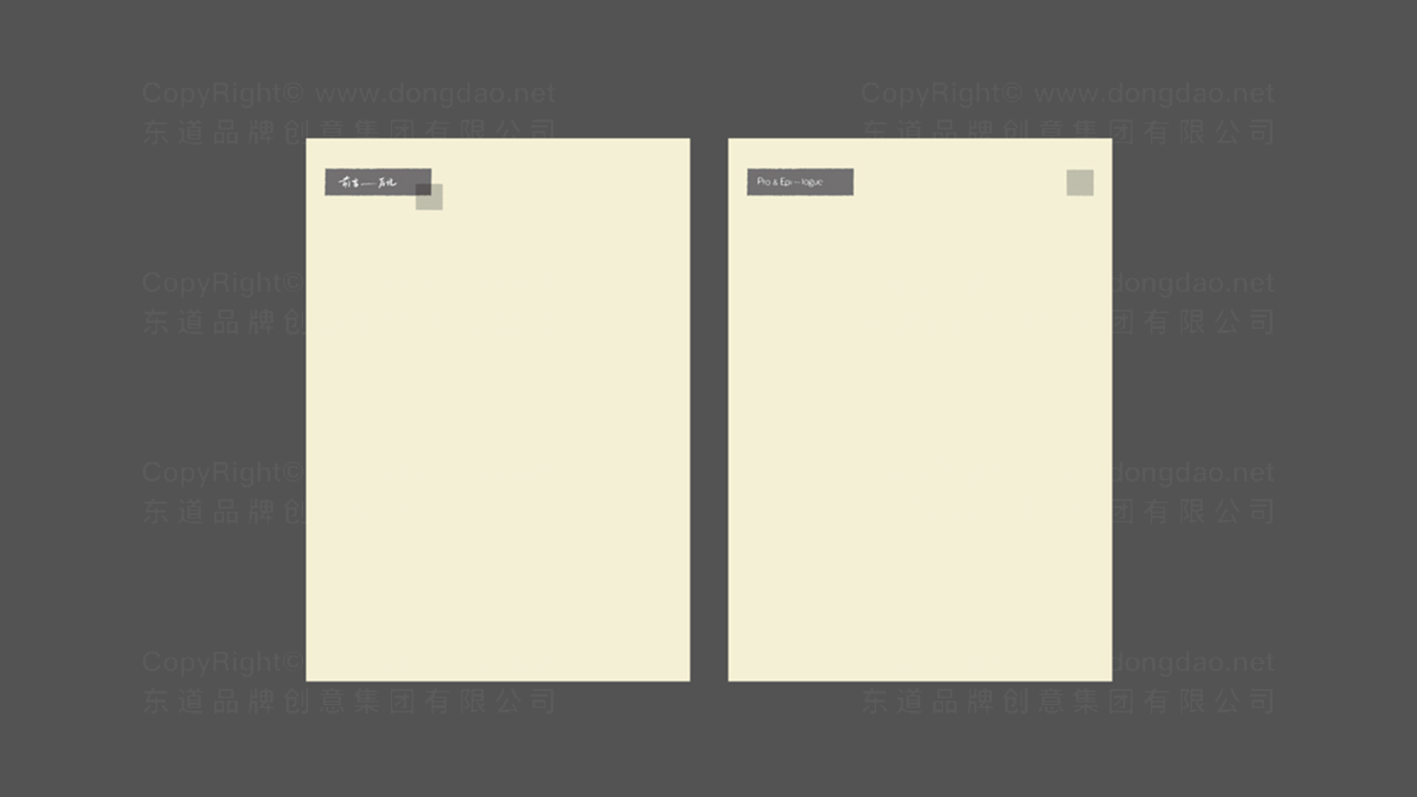 品牌设计前言后记LOGO&VI设计应用场景_2