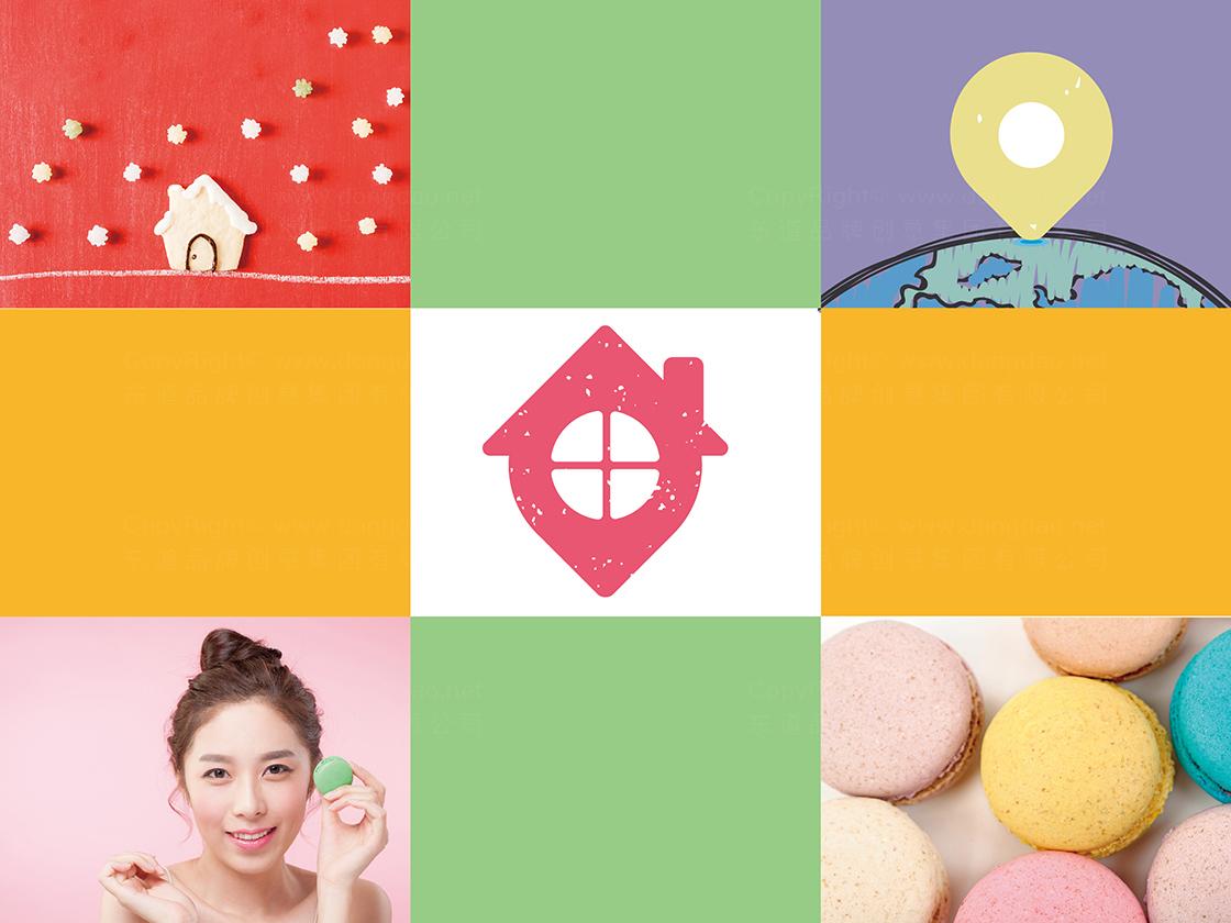 品牌设计糖糖屋LOGO&VI设计应用