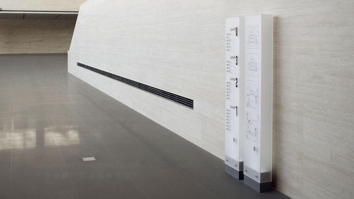商业空间&导示天津美术馆导示设计应用
